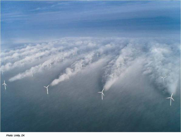 offshore wind farm in Europe